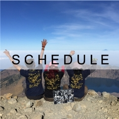Indonesia Mountain Guide/Schedule